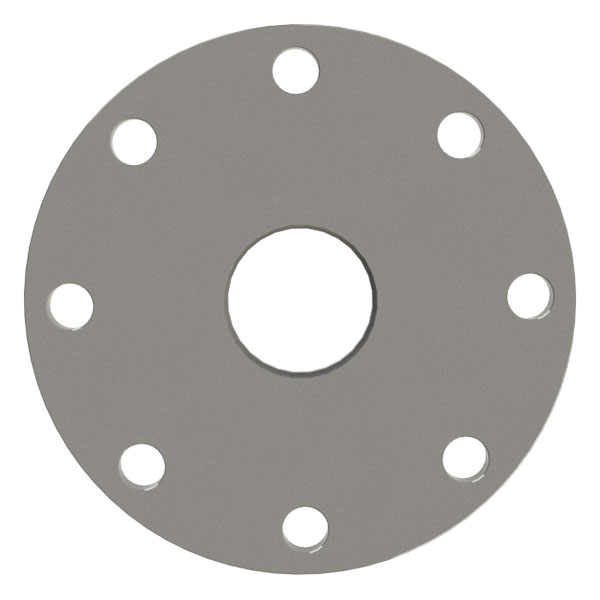 ASA Flange, 4 Inch, Fixed Bored Flat Weld On Vacuum Flange, with O ...