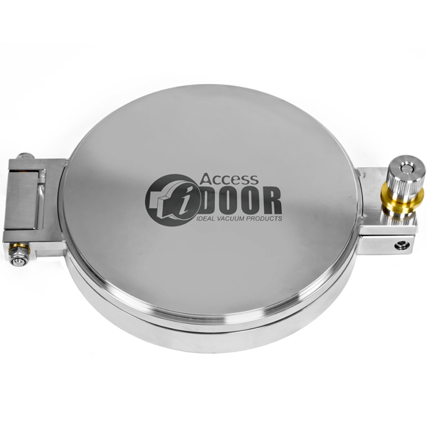 Fast Access Entry Door, Conflat Flange, CF 8.0 Inch, Blind   No View Port,  Stainless Steel Fitting