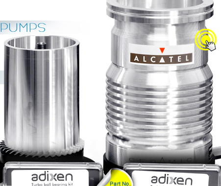 Ideal Vacuum Adixen Alcatel Ceramic Bearing Replacement