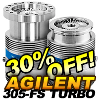 Agilent 305FS Turbo Pumps On Sale