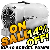 Agilent IDP-10 Dry Scroll Vacuum Pumps On Sale