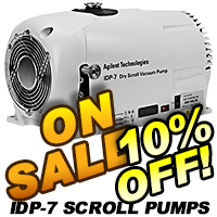 Agilent Dry Scroll Vacuum Pumps On Sale