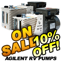 Agilent DS Series Rotary Vane Pumps On Sale
