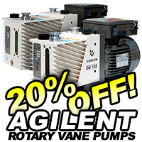 Agilent DS Series Rotary Vane Pumps On Sale