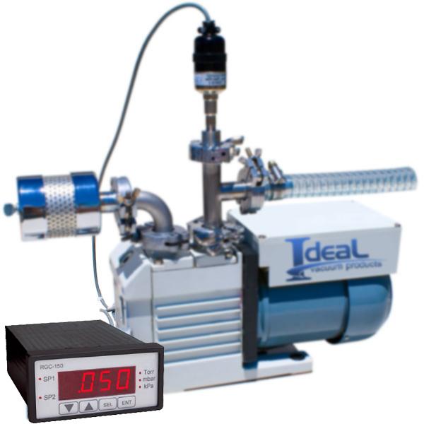 Brand New Agilent Varian RGC150E RGC 150E Rough Ethernet Thermocouple Vacuum Pressure Measurement Gauge Tube Controller PN