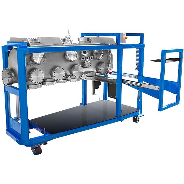 Test Equipment Racks : Uhv massive high vacuum chamber conflat cf cff flanged