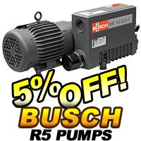 Busch R5 Rotary Vane Vacuum Pumps