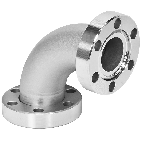 Conflat flange cff elbow degrees cf inches