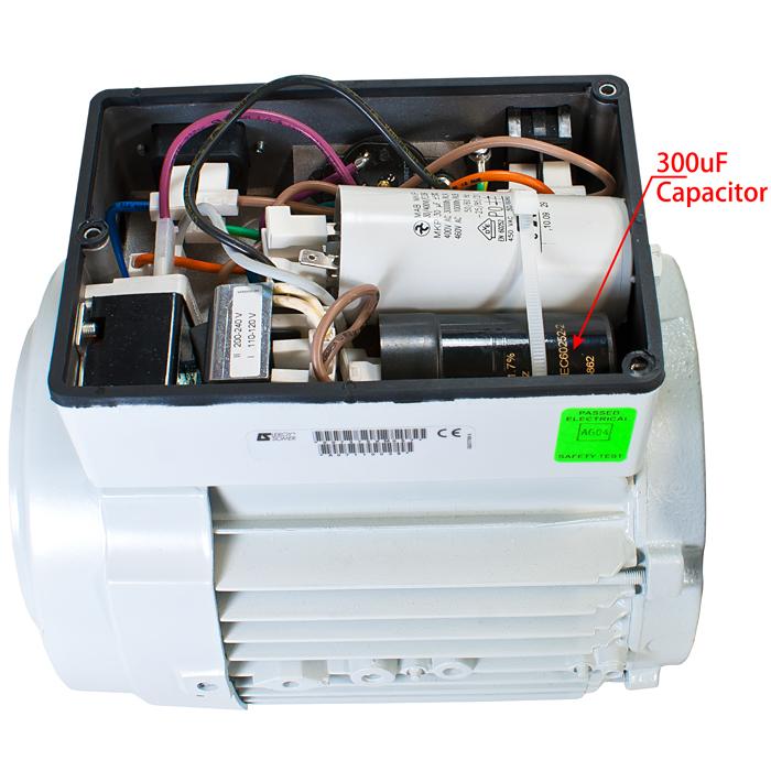 New edwards 300uf start capacitor for e1m18 e2m18 e2m28 for Motor start capacitors for sale