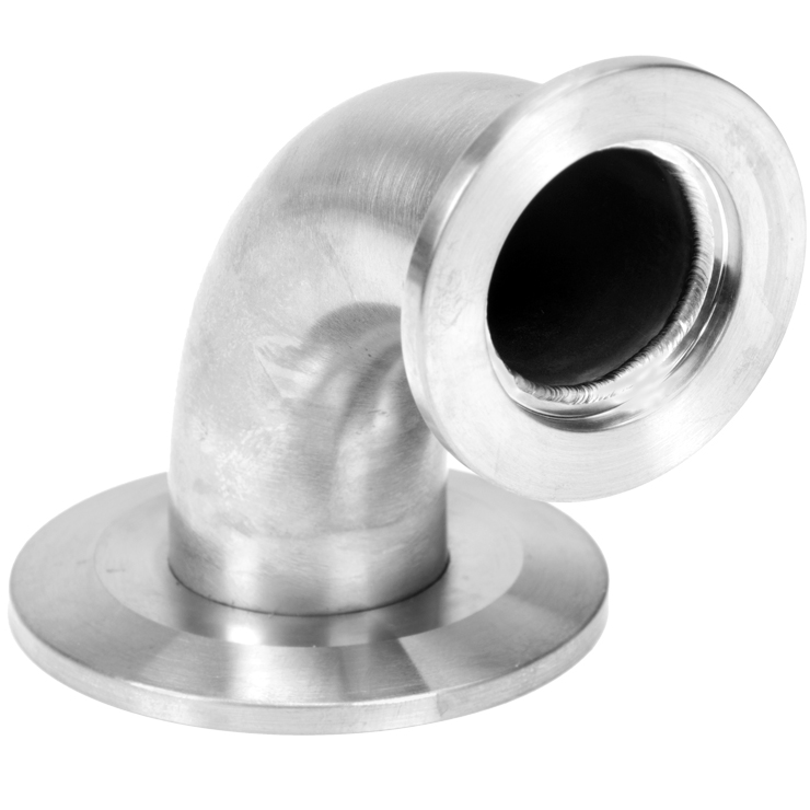 Details about  /Stainless Steel Vacuum Pump Elbow Adapter KF-25 Fitting