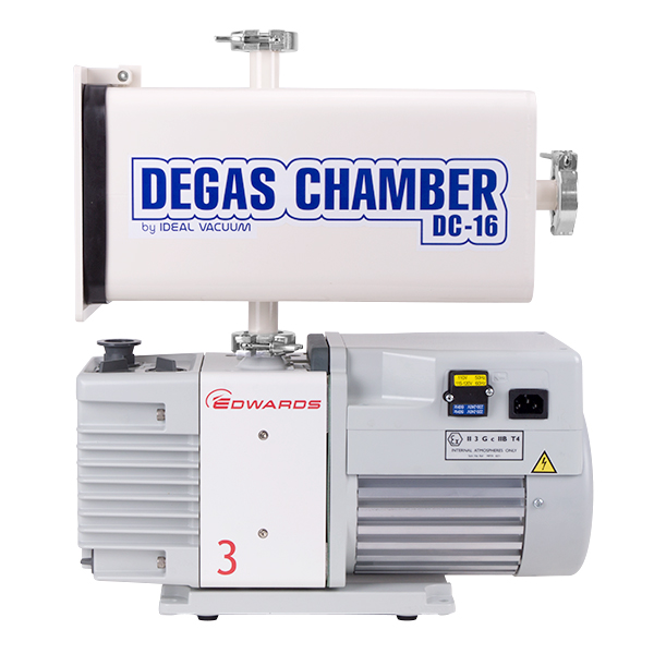 Ideal Vacuum Degas Chamber, plate, electron microscope