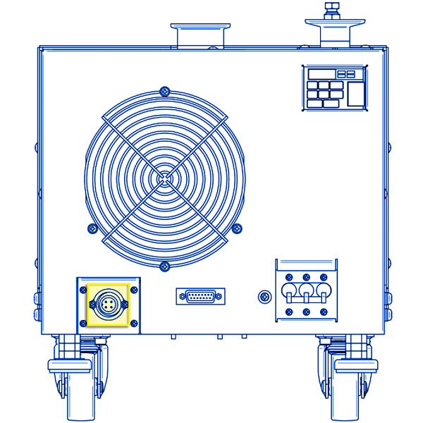 ebara ev a10 and ev sa20 dry rotary lobe vacuum pump power cord rh idealvac com Ebara Pump Distributors Ebara Submersible Pumps