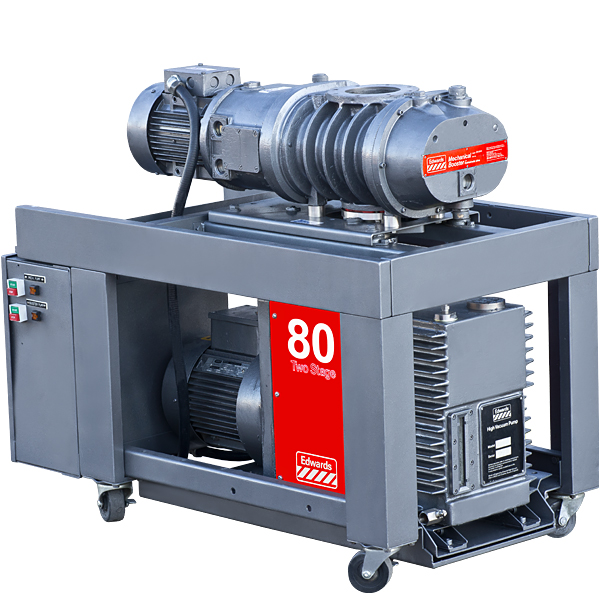 BOC Edwards E2M80 Mechanical Vacuum Pump EH-500 Blower ...