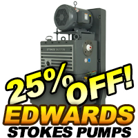Edwards Stocks Microvac Piston Pumps