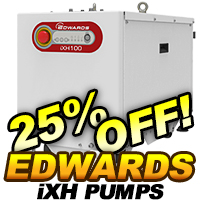 Edwards iXH Dry Semiconductor Pumps On Sale
