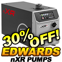 Edwards nXR Multi Stage Roots Pumps On Sale