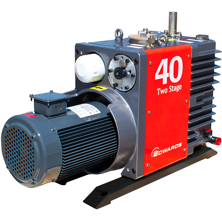 Ideal Vacuum | Edwards 40 E2M40 Rotary Vane Dual Stage ...