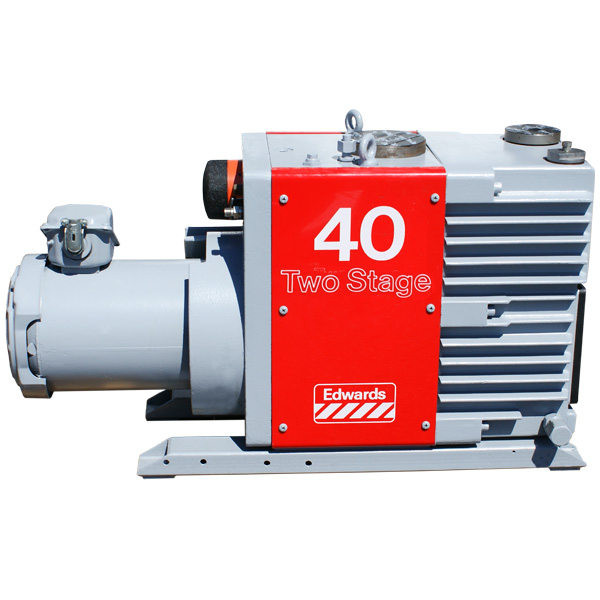Edwards 40 E2M40 Rotary Vane Dual Stage Mechanical Vacuum ...