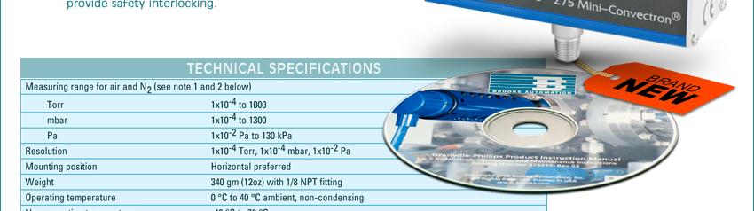 granville phillips 275 mini convectron gauge manual