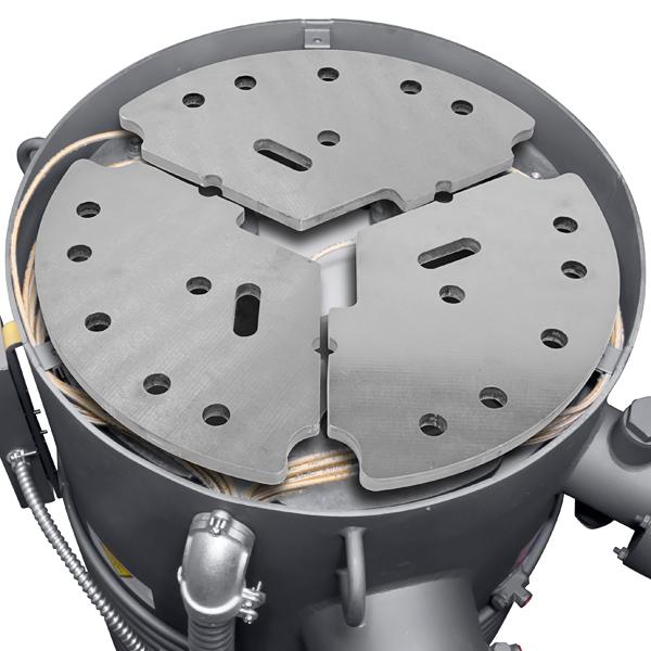 HS 16 Diffusion Pump L_01 agilent varian hs 16 high vacuum diffusion pump, 16 inch asa inlet  at mifinder.co
