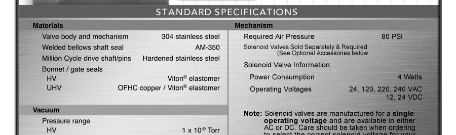 Ideal Vacuum Hva Iso F 200 Pneumatic Gate Valve 8 0