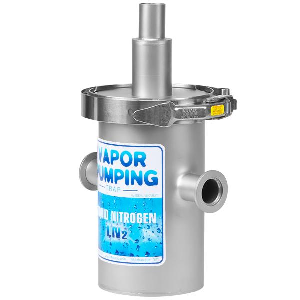 Ideal Vacuum Ideal Vacuum In Line Liquid Nitrogen Trap