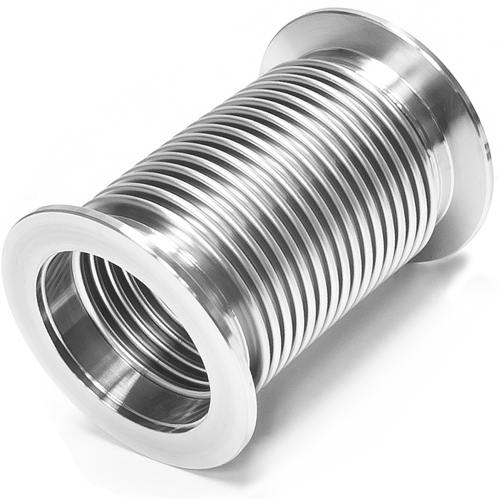 Bellows hose metal kf inch flex coupling iso