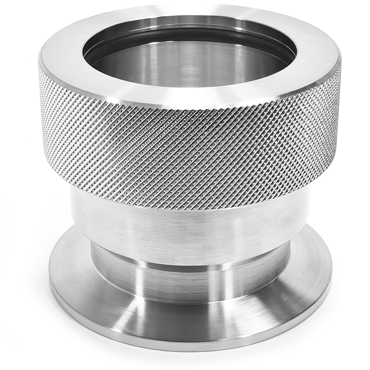 2 Inch Stainless Steel Coupling : Adapter kf to in i d quick coupling compression
