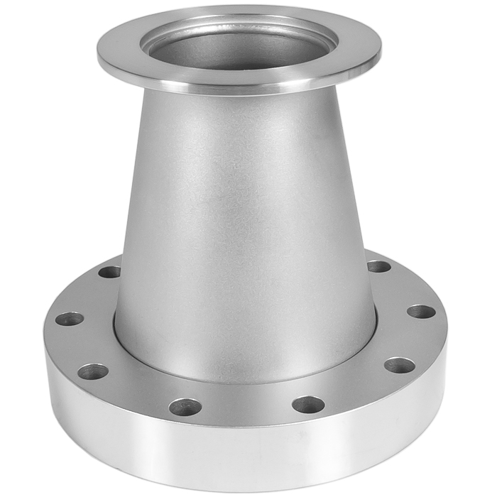 Adapter conical kf to cf in flange iso nw