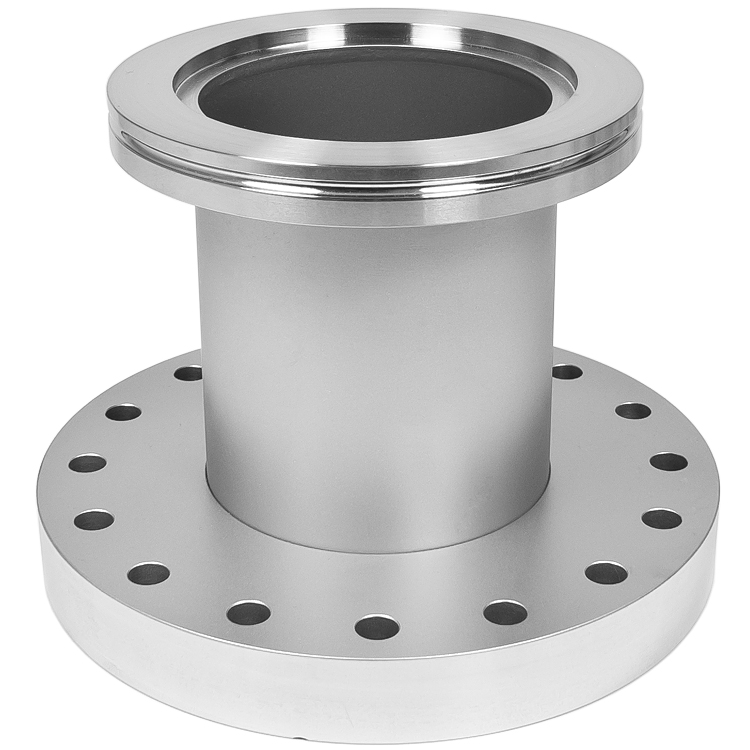 Adapter nw to cf inch vacuum fittings iso lf flange