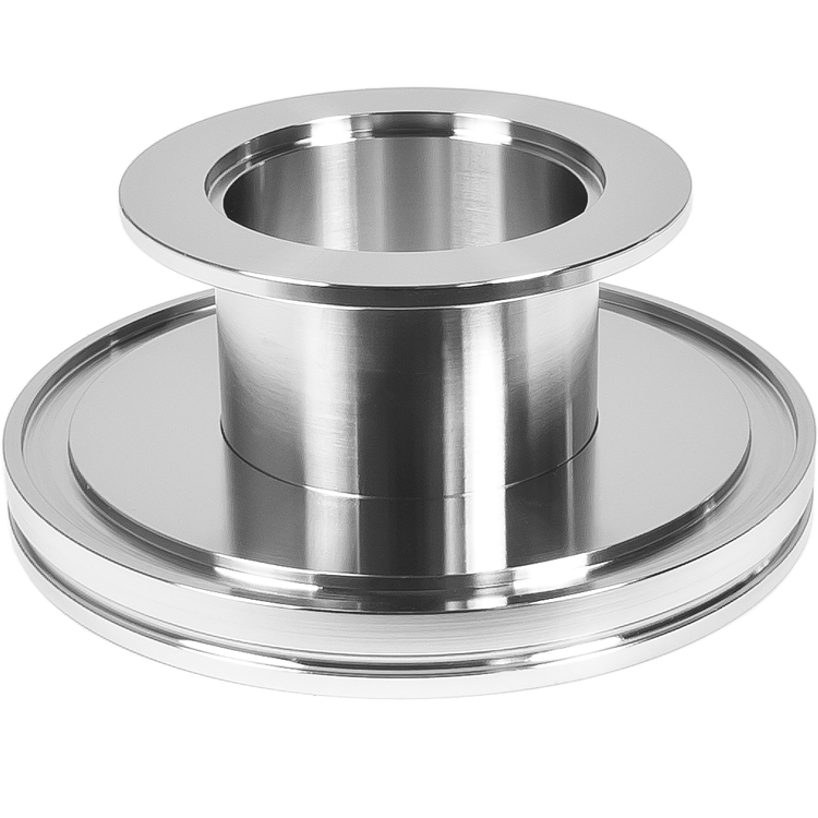 Adapter straight kf to iso large flange size