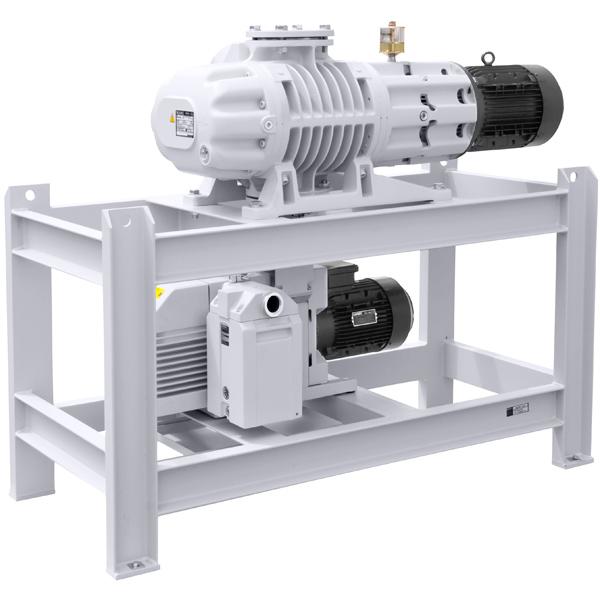 Vacuum And Blower Systems : Oerlikon leybold d b wau ruta vacuum pump system