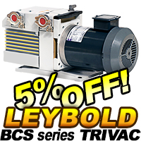 Leybold BCS Series Pumps On Sale