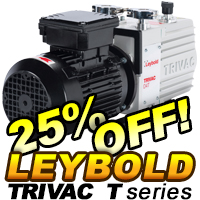 Leybold T Series Rotary Vane Pumps