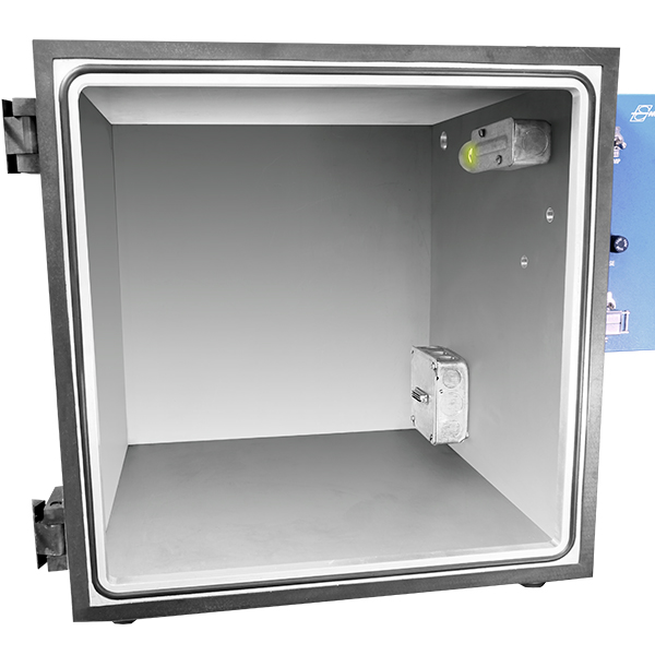 Envax VC 16 VC16 Inch Square Vacuum Cube Chamber Test Chambers Aluminum Plate With Acrylic Door