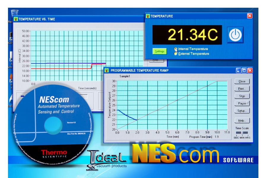 Ideal Vacuum   NESLAB Thermo Scientific NEScom 4 0