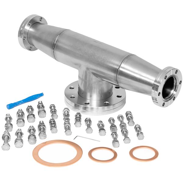Extorr rga residual gas analyzer manifold kit conflat