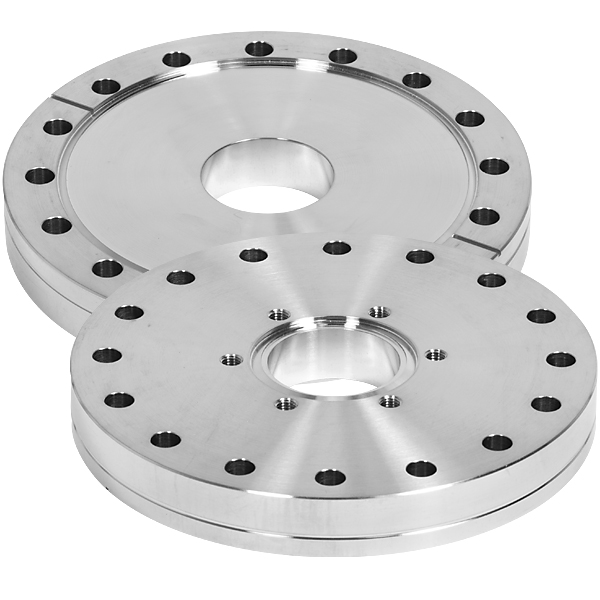 Conflat flange cf zero length reducer inches to