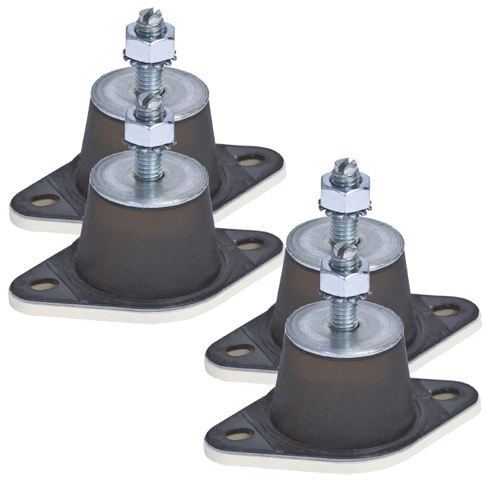 Ideal Vacuum Varian Agilent Vibration Isolator Rubber