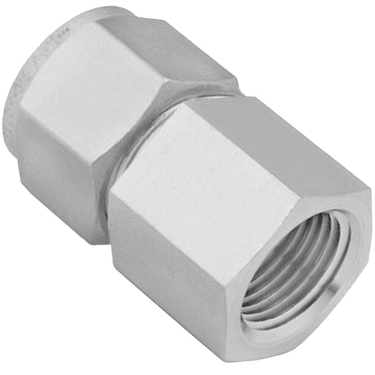 Ideal Vacuum Swagelok Tube Fitting 1 4 Fnpt To 3 8 Tubing Stainless Steel Female Connector Gaugeable 1 Ea Pn Ss 600 7 4
