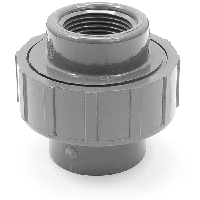 Fnpt coupling pvc adapter plastic union in id
