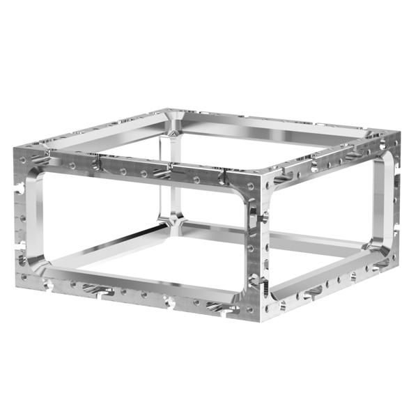 Vacuum Cube Chamber Frames Ideal Vacuum