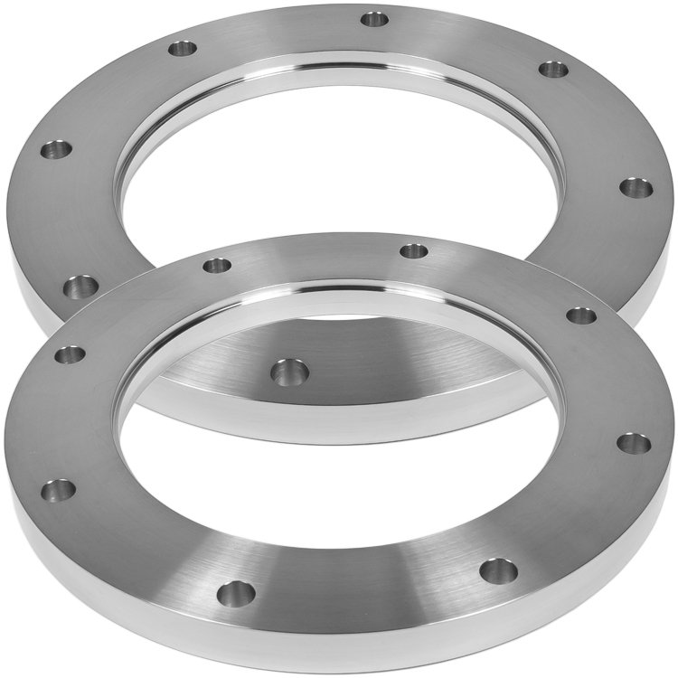 Weld flange bolted nw vacuum fittings iso lf