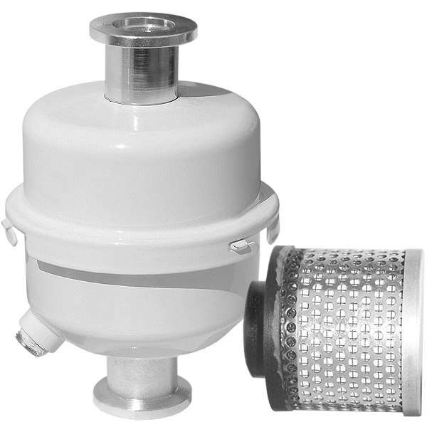 Compact Oil Mist Eliminator Exhaust Filter, KF16 Inlet