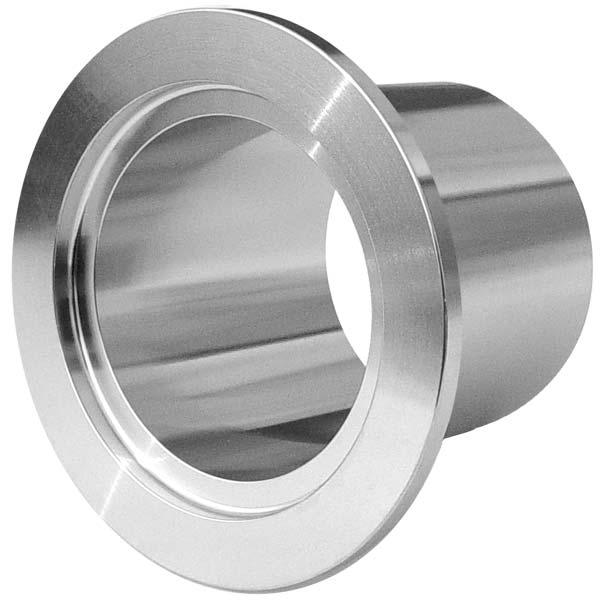 Kf nw half nipple long weld stub stainless steel