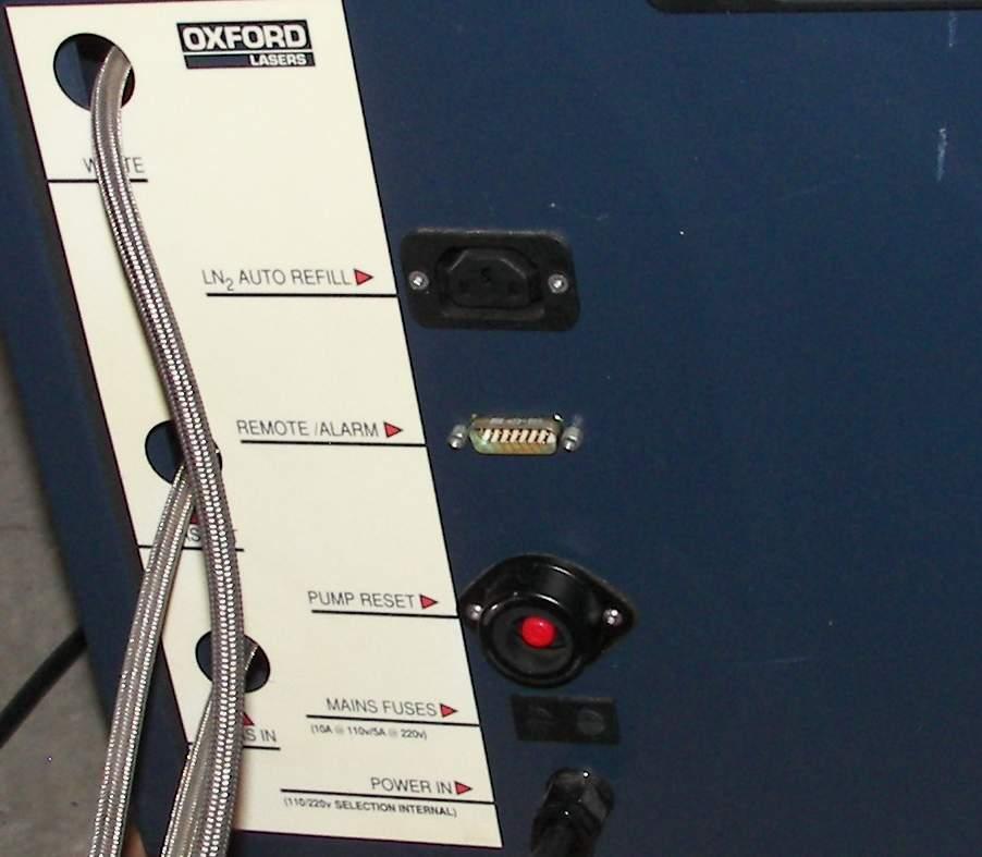 Nitrogen Gas Purifier ~ Oxford laser cryogenic liquid nitrogen gas purifier ebay