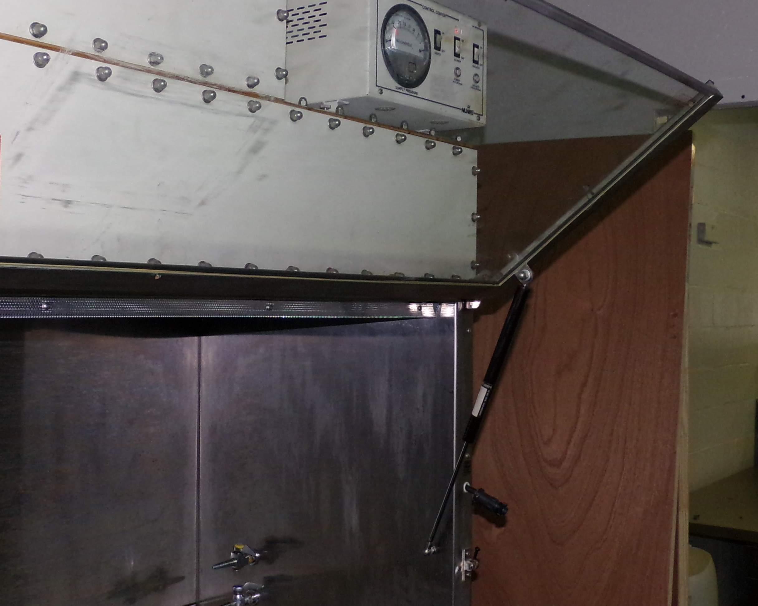 nuaire biological safety cabinet fume hood | ebay