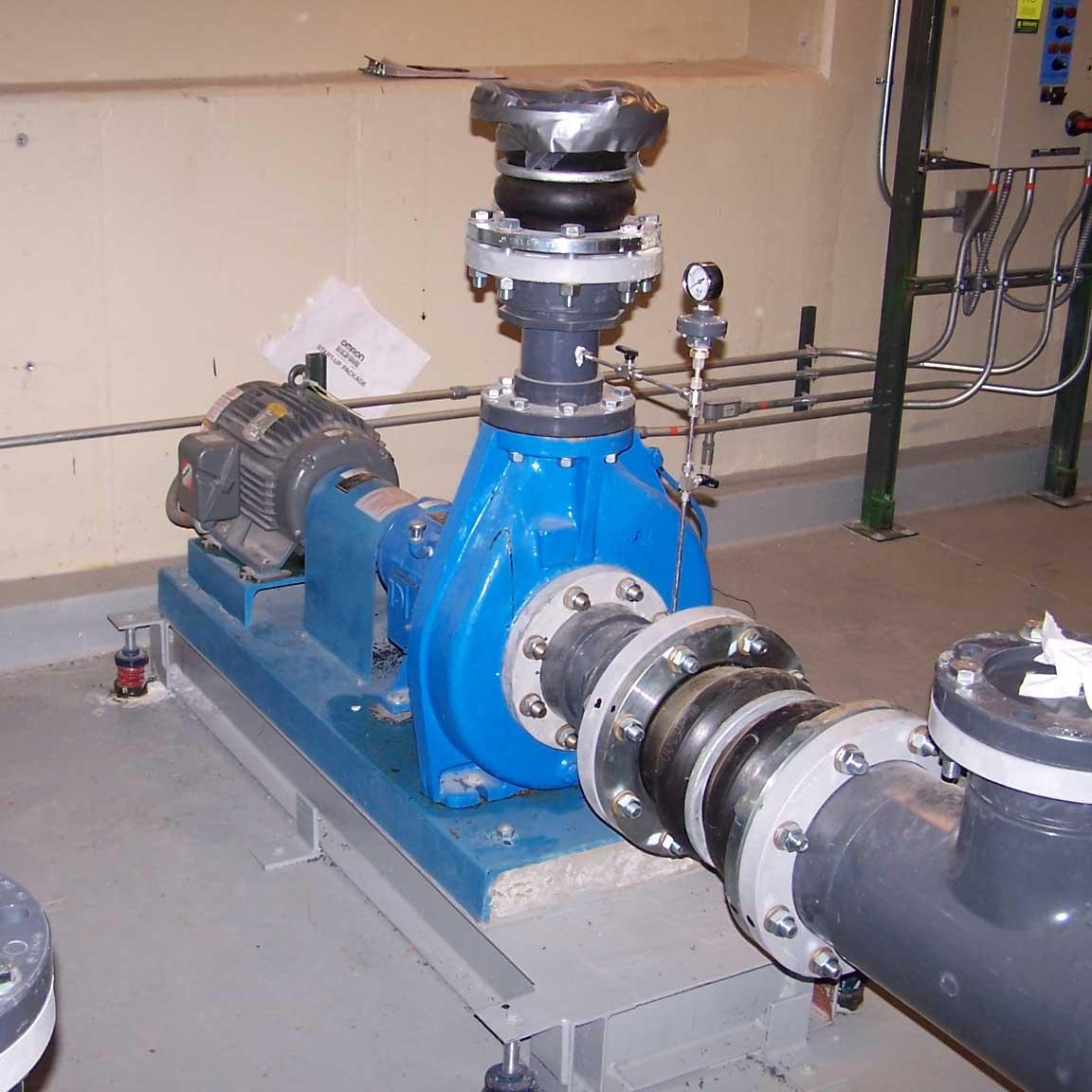 Ingersoll Dresser Grp Centrifugal Liquid Pump System 6 X 4 10 7 5 Hp Motor Rebuilt