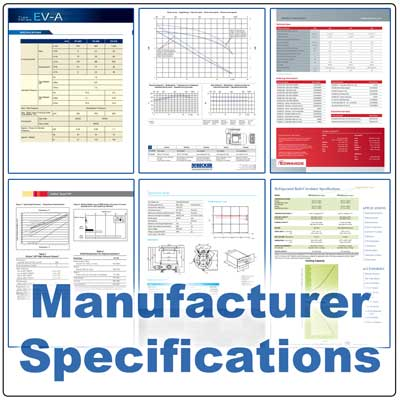 Manufacturer Specifications