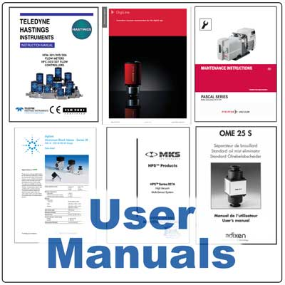 Ideal Vacuum | Vacuum Pump User Manuals PDF Downloads